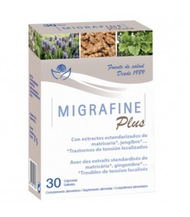 Migrafine 30 capsulas - bioserum