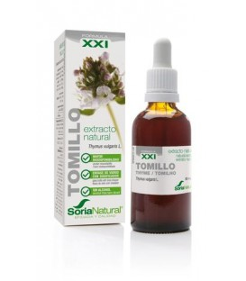 Extracto Natural de Tomillo 50 ml sin alcohol XXl de Soria Natural