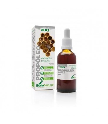 Extracto Natural Propóleo 50 ml Formula XXl de Soria natural